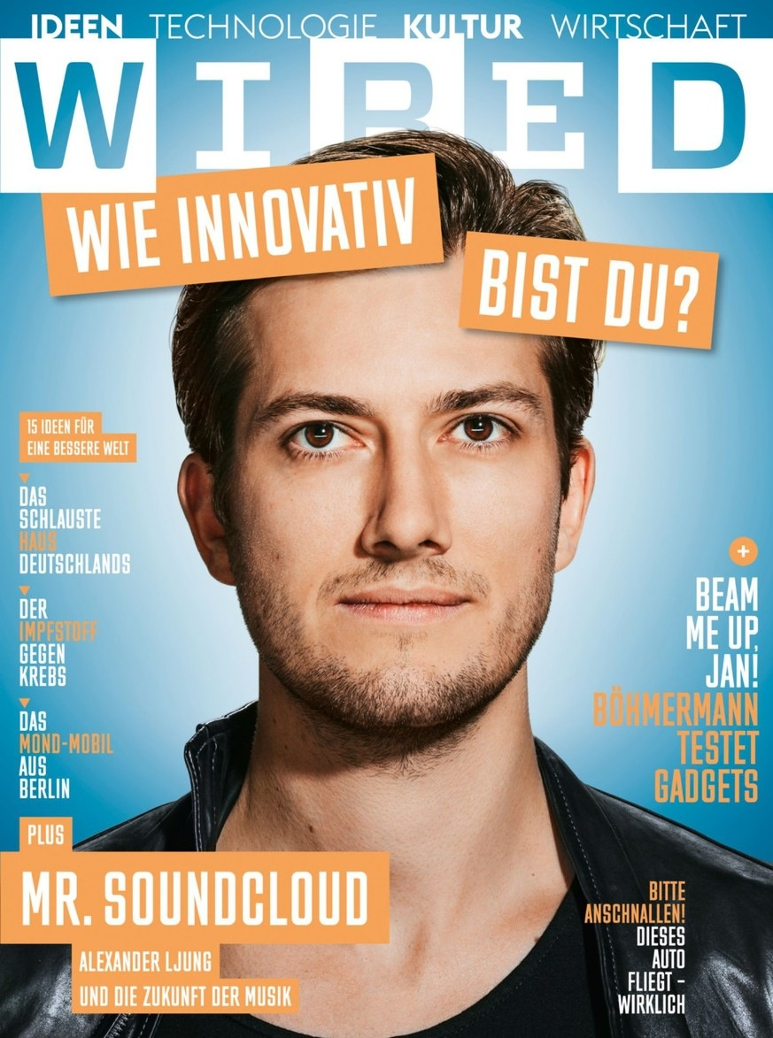 alex ljung Wired Germany cover
