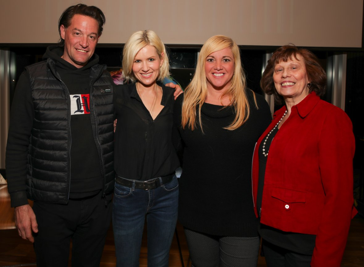 Robert Kennedy, DIDO,iHeart EVP Global Music Marketing Alissa Pollack, Patricia Kennedy