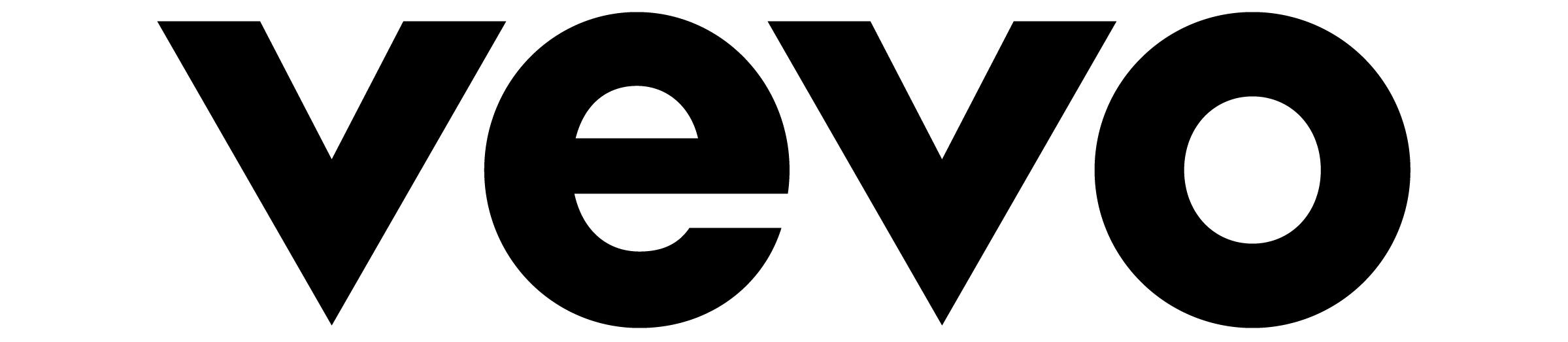 vevo logo black
