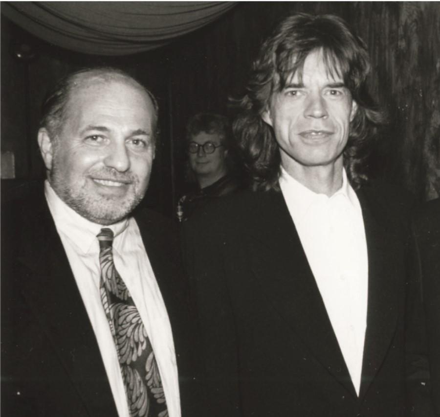 Doug Morris Mick Jagger