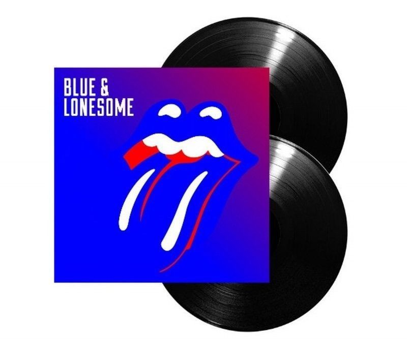 Rolling Stones Blue & Lonsome vinyl