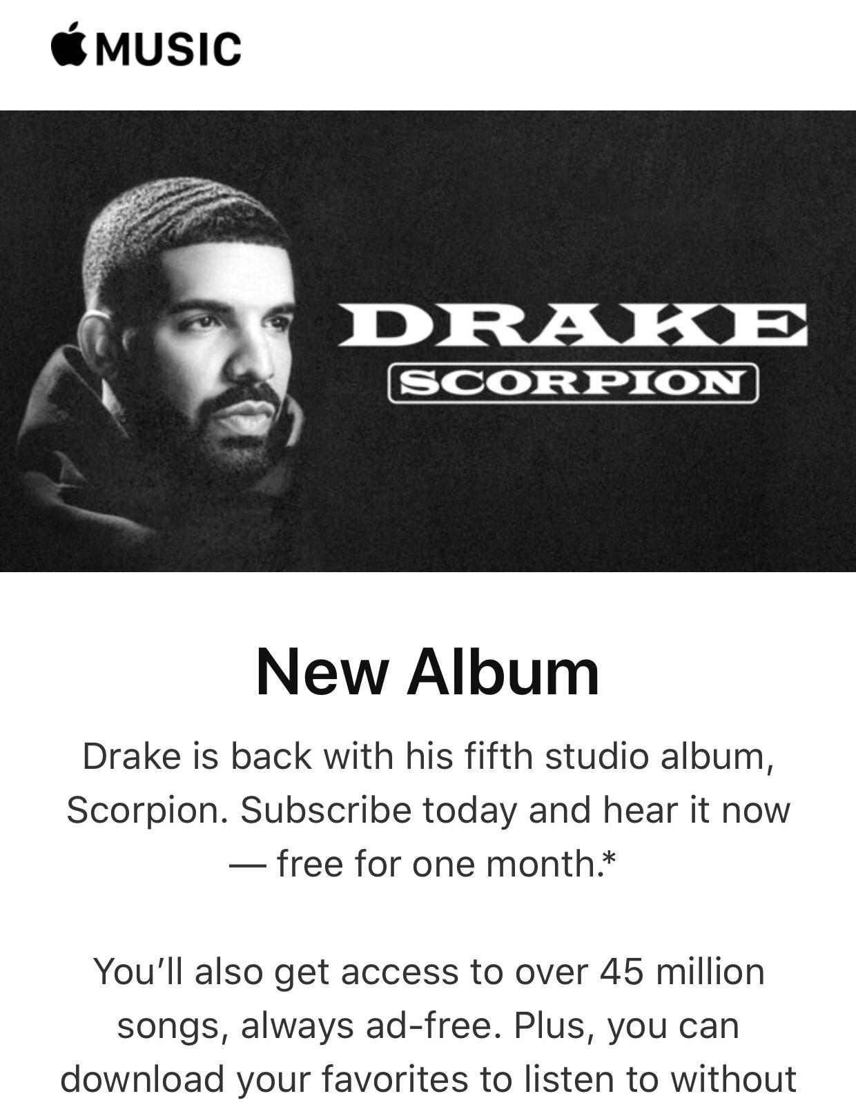 drake scorpion album download free