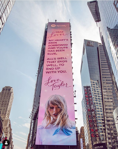 Taylor Lover poster