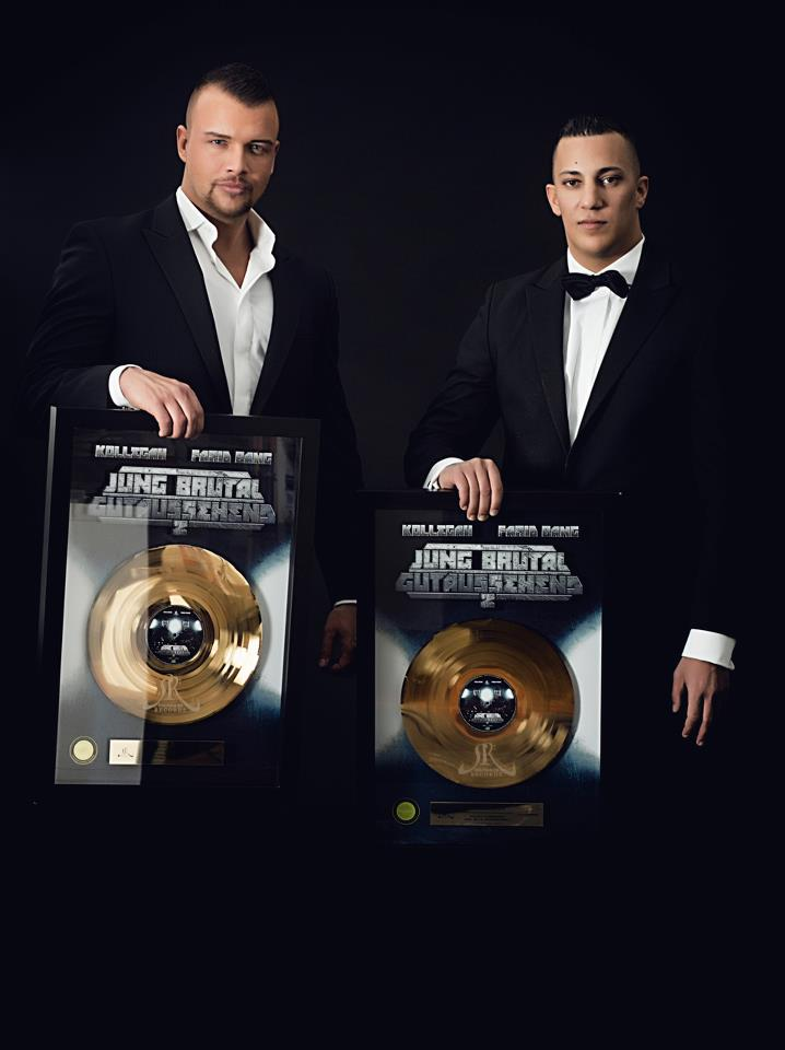 kollegah and Farid Bang