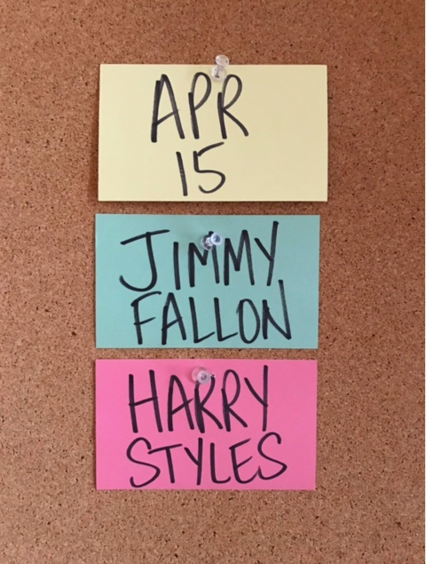 harry on fallon