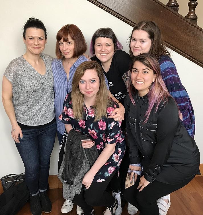 Karen and gal pals SXSW 2018