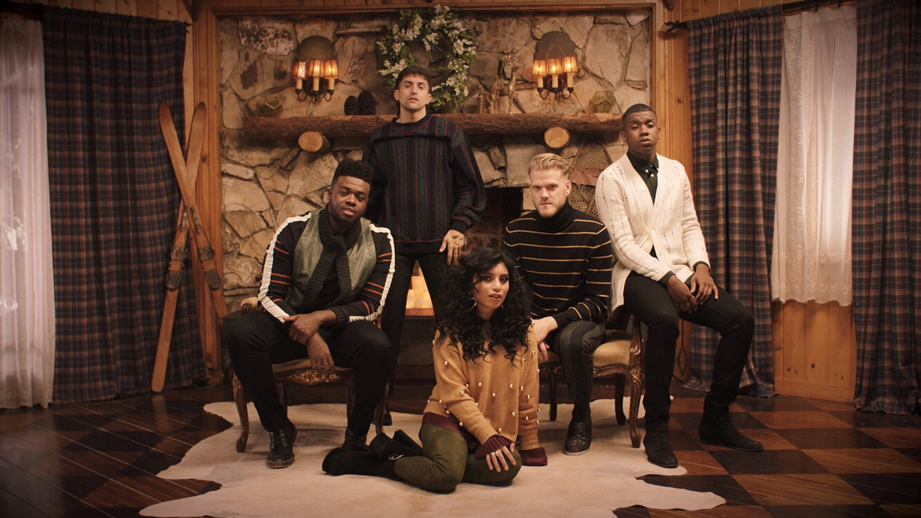 [OFFICIAL VIDEO] Sweater Weather - Pentatonix