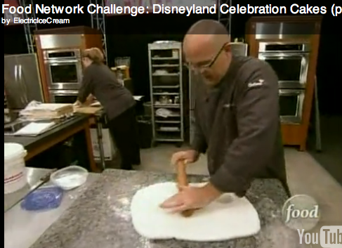 Food Network Challenge: Disneyland Celebration Cakes (part 1 of 3)