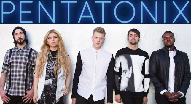 Pentatonix website - Section 101 featured artist website