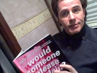 John Taylor reading Would Someone Please Explain: The Best of Duran Duran's Ask Katy