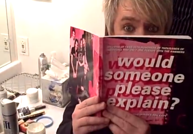 Nick Rhodes reading Would Someone Please Explain: The Best of Duran Duran's Ask Katy