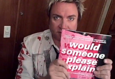 Simon LeBon reading Would Someone Please Explain: The Best of Duran Duran's Ask Katy