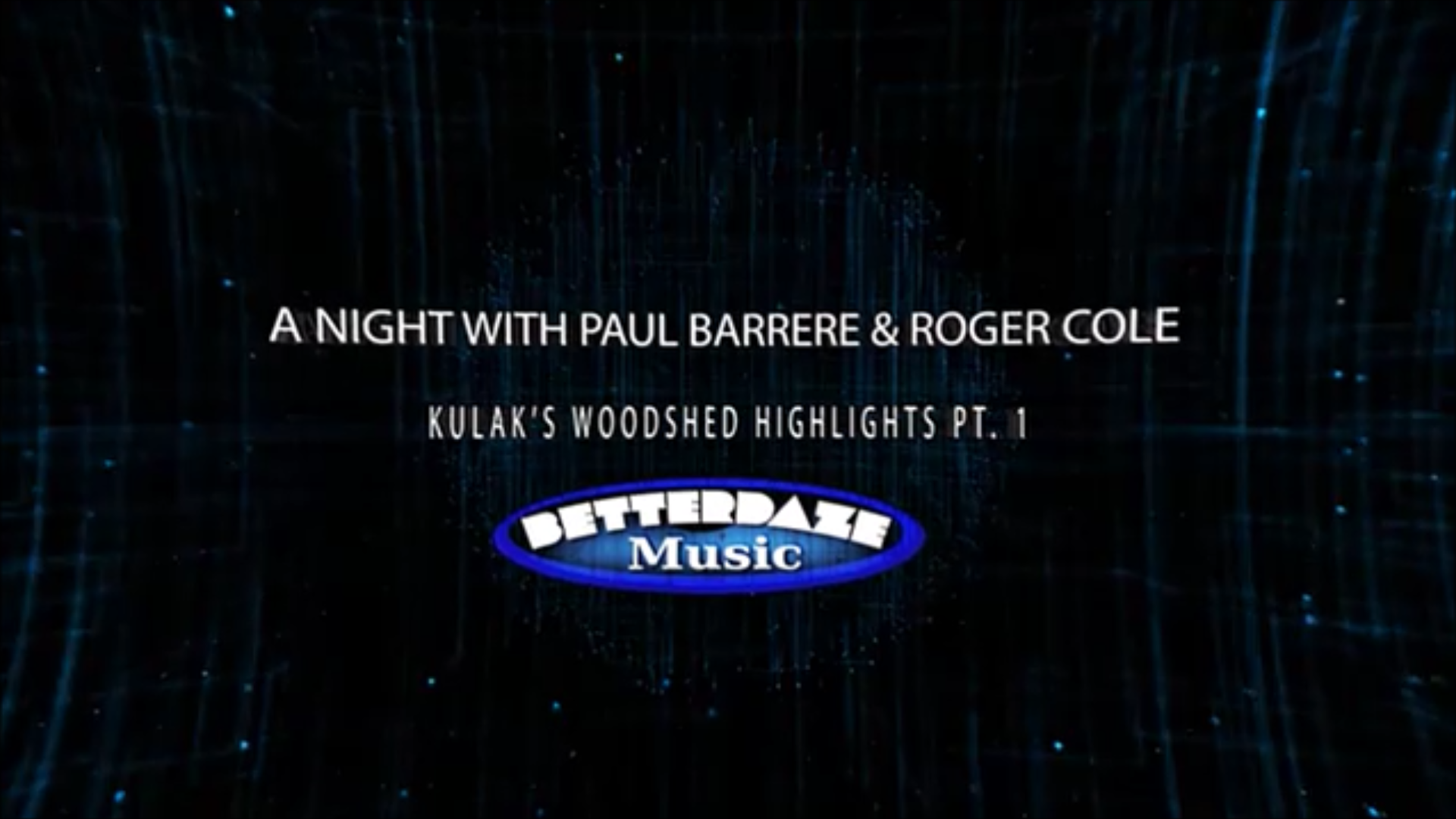 A Night with Roger & Paul, Highlights Pt. 1