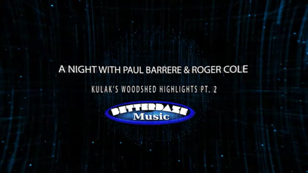 A Night with Roger Cole & Paul Barrere Pt. 2