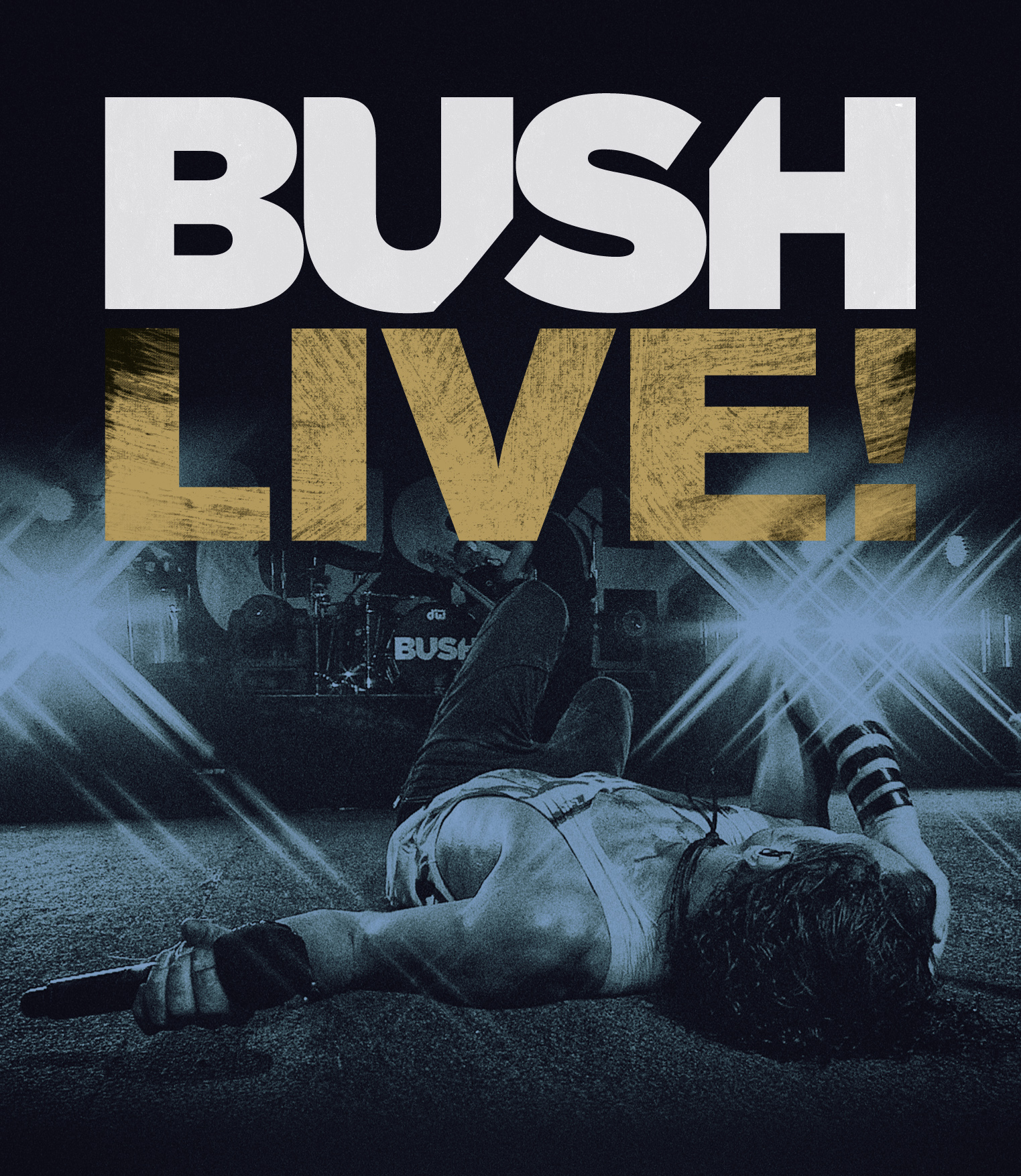 """BUSH TO RELEASE BRAND NEW LIVE DVD AND BLU-RAY """"LIVE!"""""""