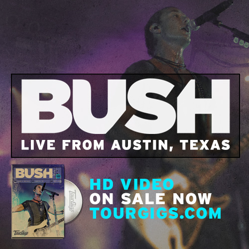 BUSH Official Website : BUSH LIVE AT STUBB'S NOW AVAILABLE FOR BLU