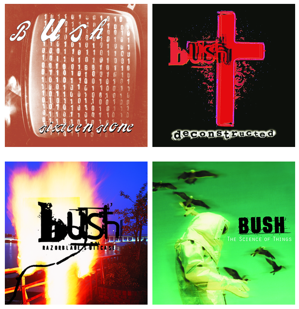 BUSH Official Website : FOUR REMASTERED ALBUMS AVAILABLE NOW