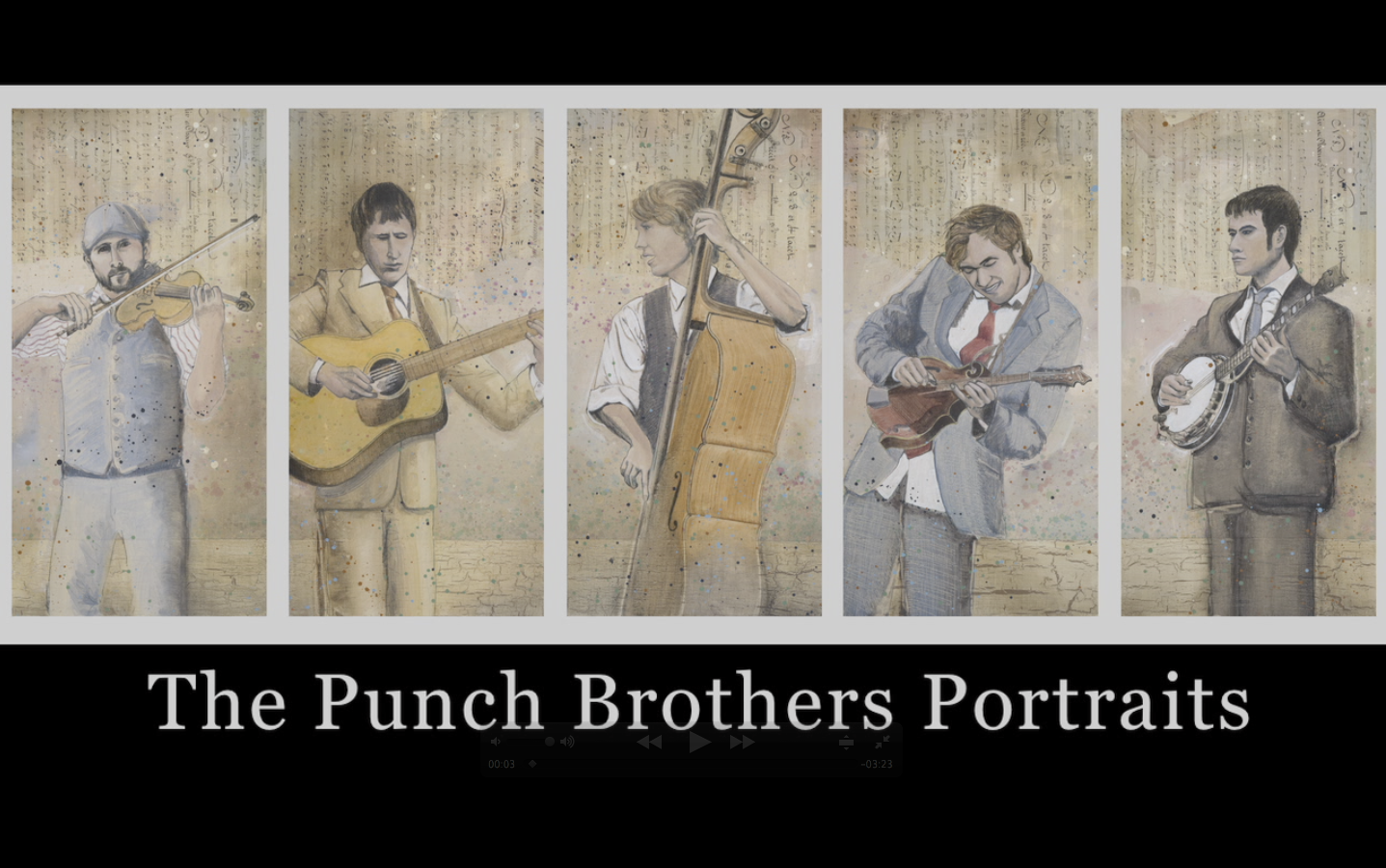 The Punch Brothers Portraits