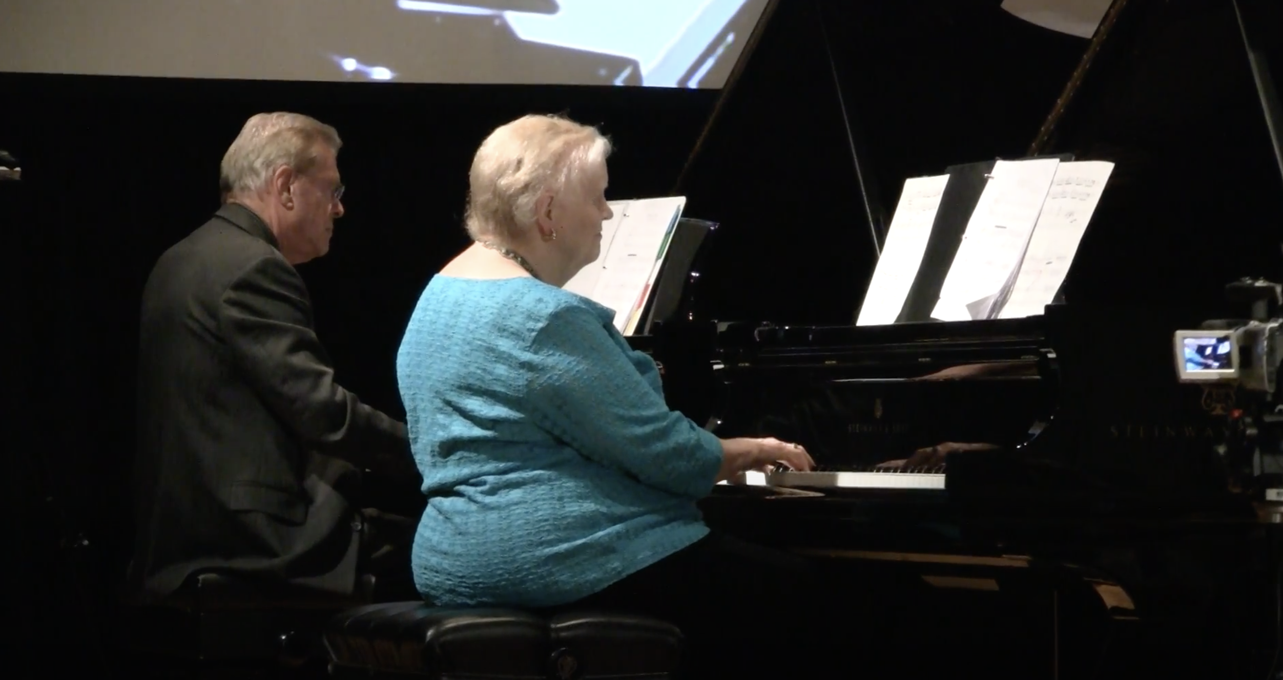George Gershwin: Rhapsody in Blue for Two Pianos, arranged by Lee Galloway