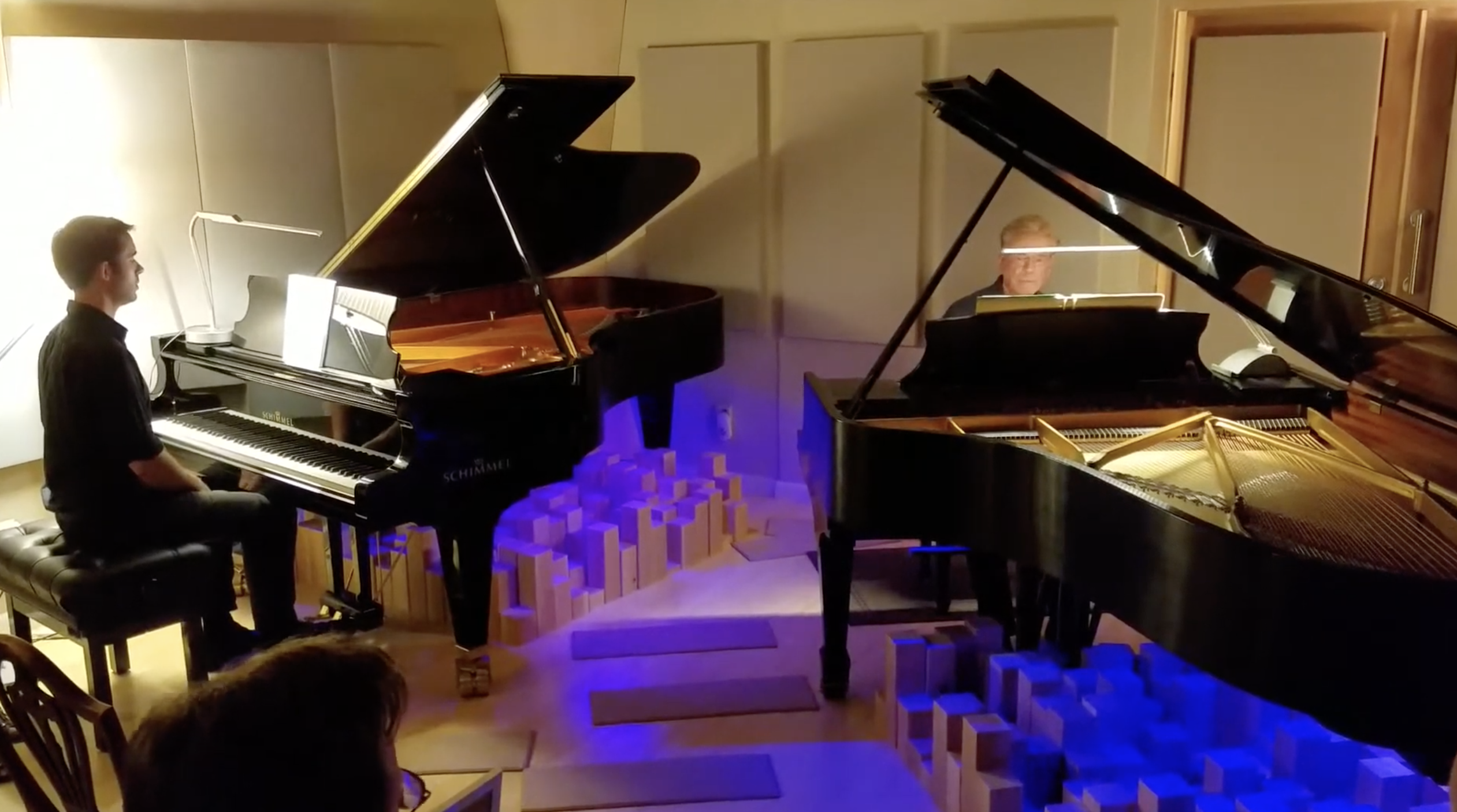 Rhapsody in Blue, Abridgment for 2 Pianos by Lee Galloway, with Andrew King