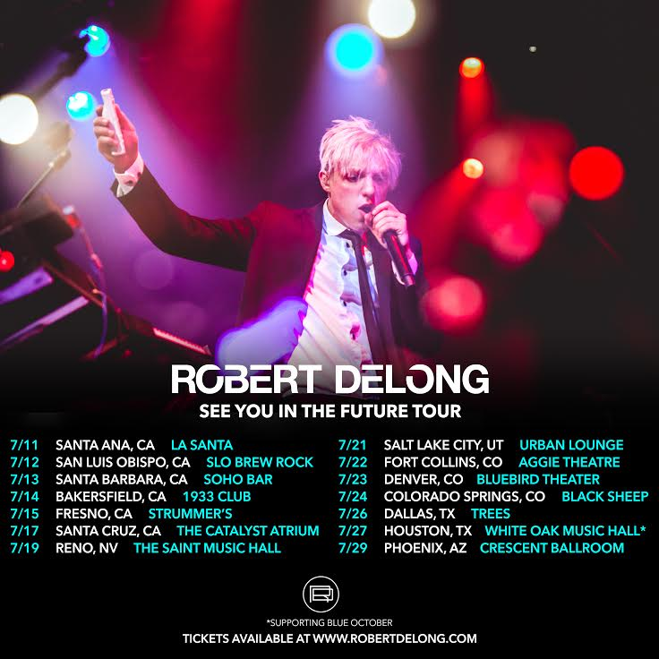 Hardin Bourke Entertainment Robert Delong Extends See You In The