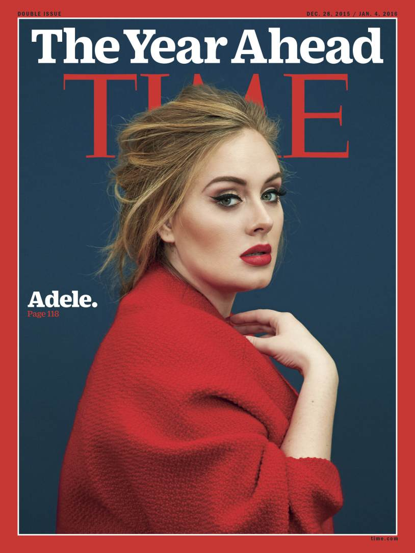 Adele Time cover 1-16