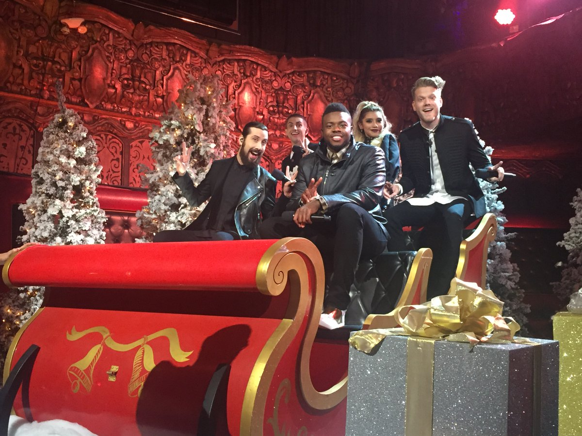 Pentatonix Christmas Special.Hits Daily Double Rumor Mill Nbc Special Boosts