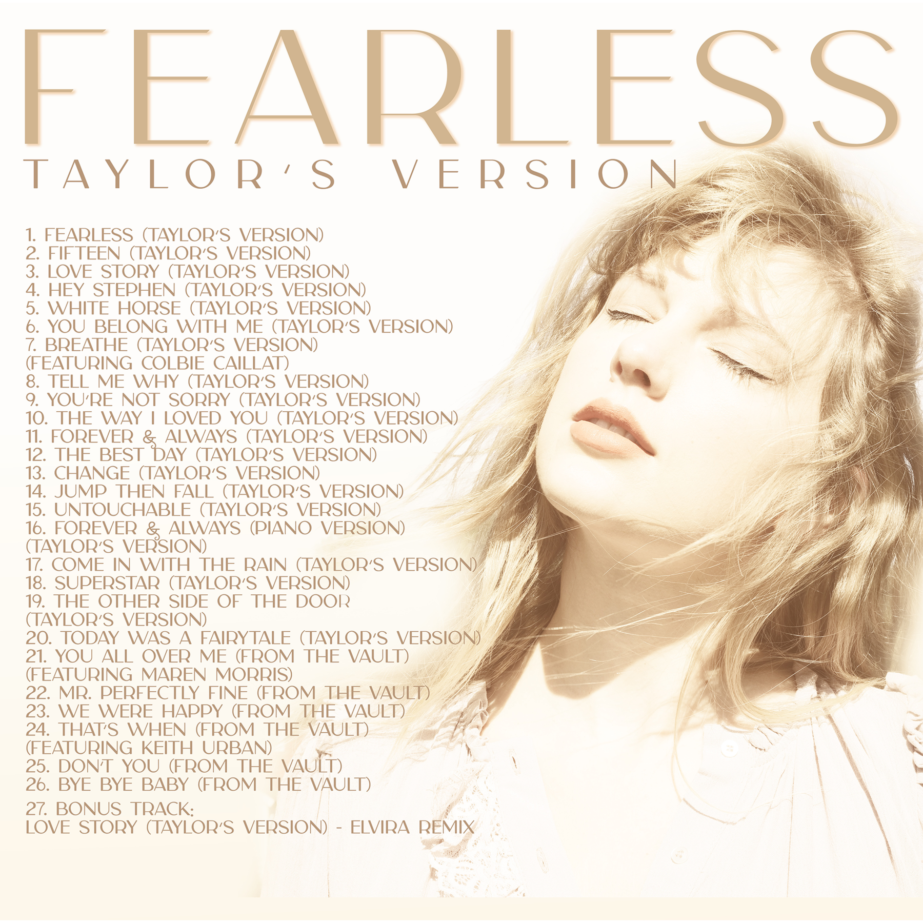 Fearless Taylor sVersion BackCover 1800x1800