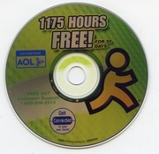 AOL CD - 1175 Hours Free for 50 Days America Online AM0508R42 2004