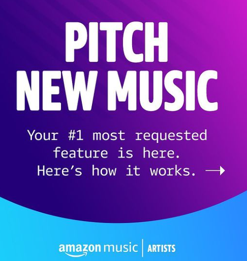 AMAZON MUSUC FOR ARTISTS
