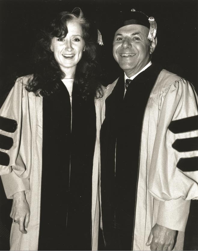 Bonnie Raitt and Joe Smith