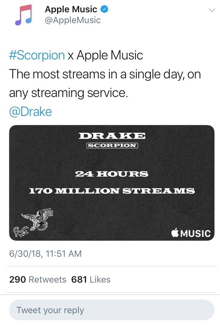 Rumor Mill - STREAMING SERVICES ALIGN TO CHAMPION DRAKE (UPDATE)