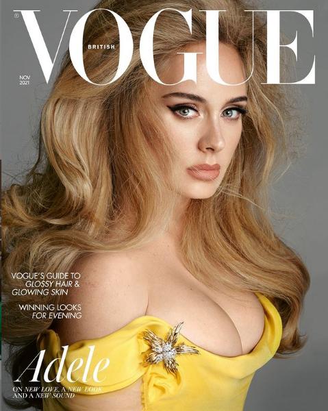 Adele British Vogue cover