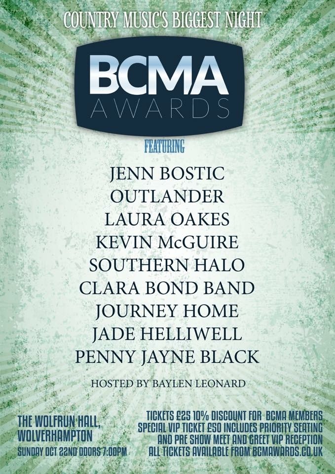 Jenn Bostic : PERFORMING AT THE BCMAS OCTOBER 2017