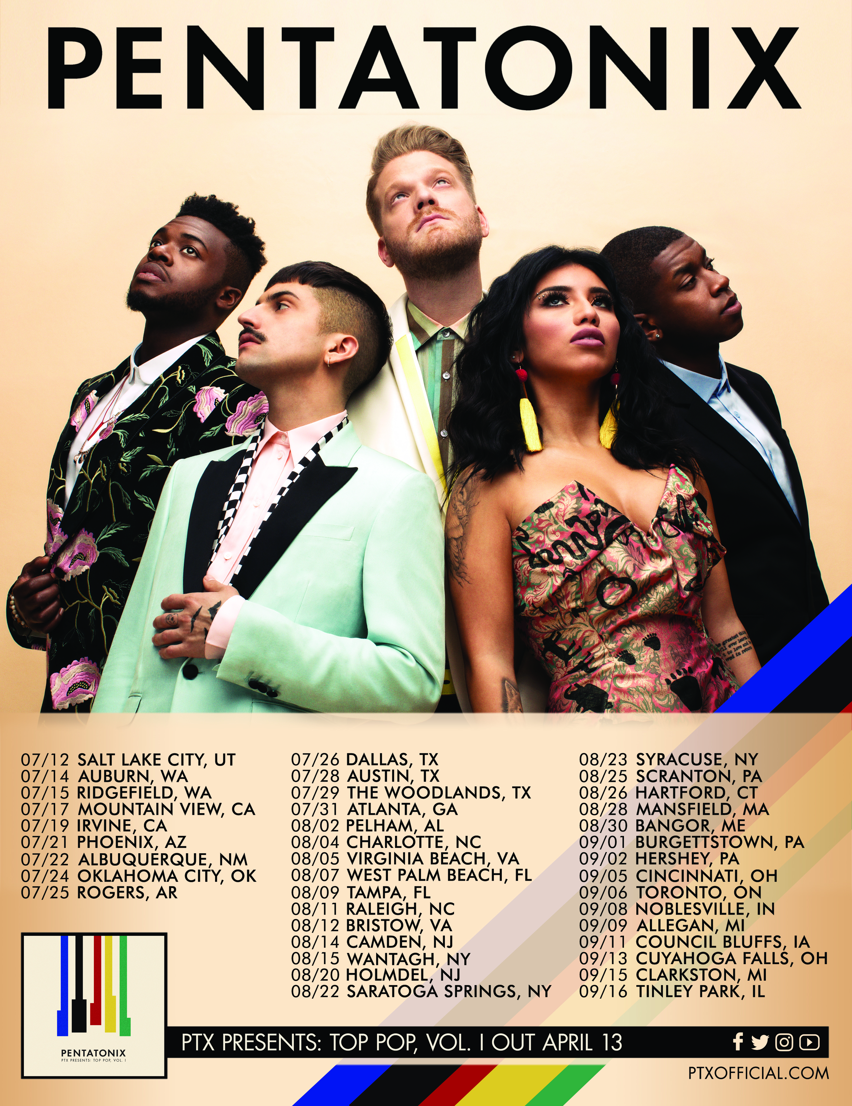 Pentatonix Official Website : JUST ANNOUNCED: NEW SUMMER