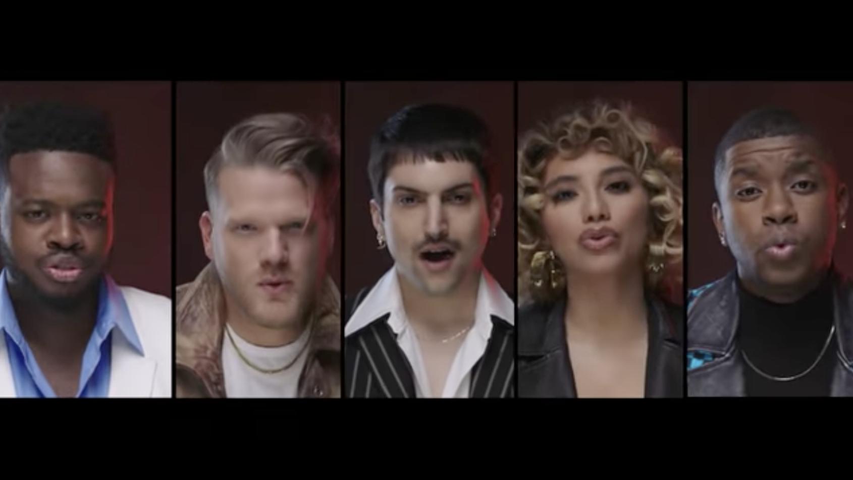 [OFFICIAL VIDEO] 90s Dance Medley - Pentatonix