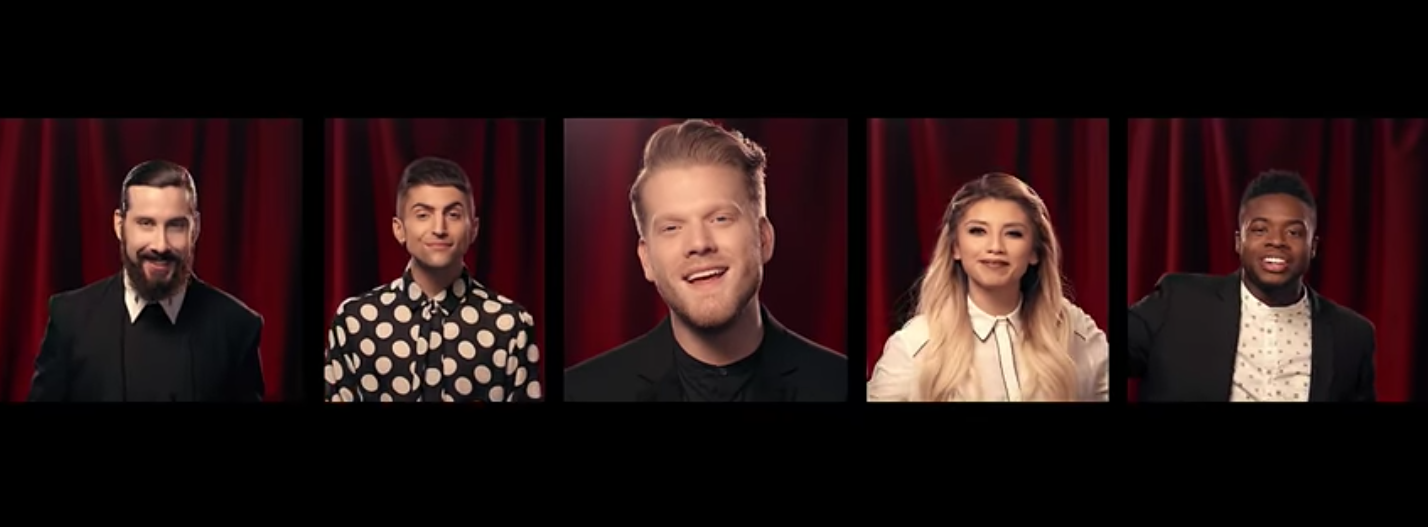 [OFFICIAL VIDEO] O Come, All Ye Faithful - Pentatonix