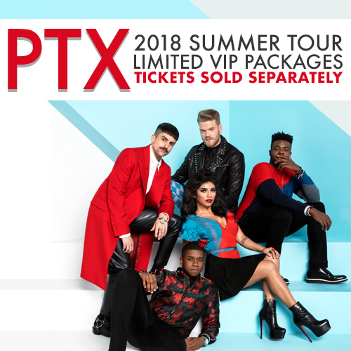 Pentatonix official website vip packages available now m4hsunfo