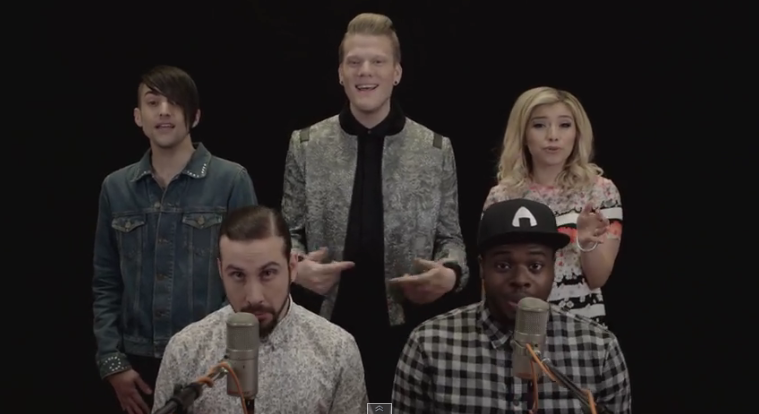 Pentatonix Official Website : NEW VIDEO: THE EVOLUTION OF MICHAEL