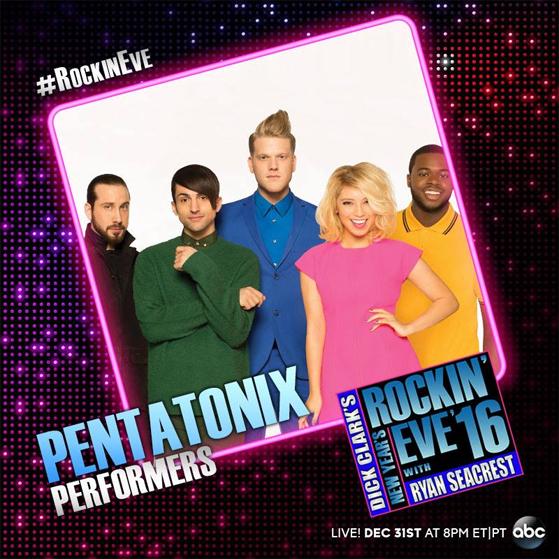 pentatonix official website upcoming tv appearances